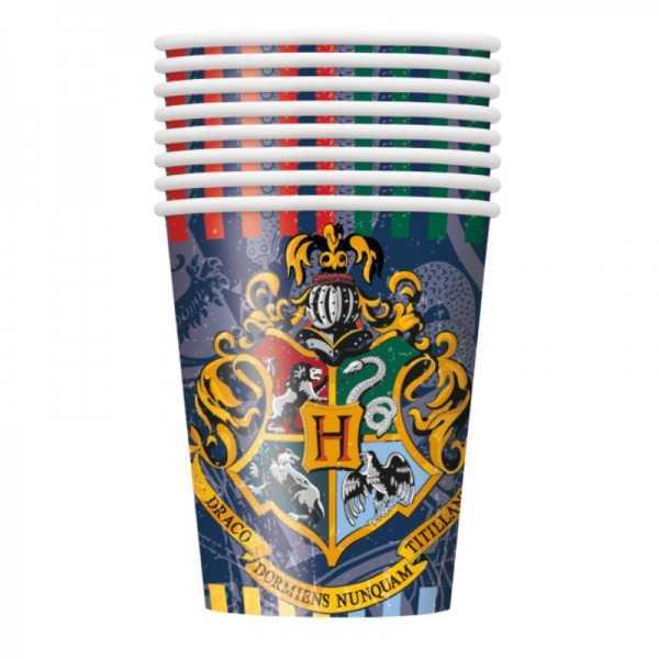 Gobelets Harry Potter, 8 pces