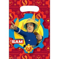 Partytüte  Feuerwehrman Sam, 8 Stk.