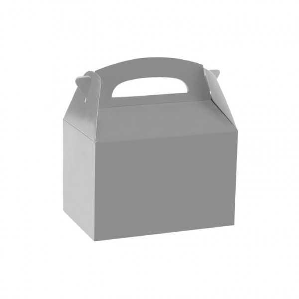 Geschenkbox silber, 1 Stk.