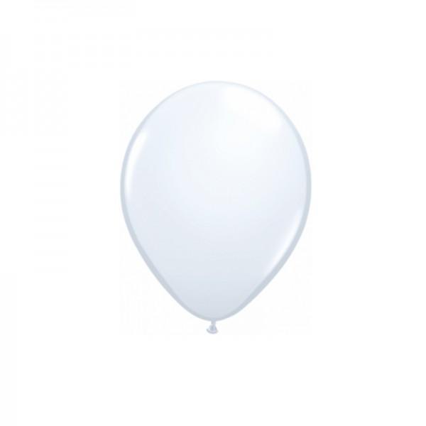 Luftballons weiss, 10 Stk.