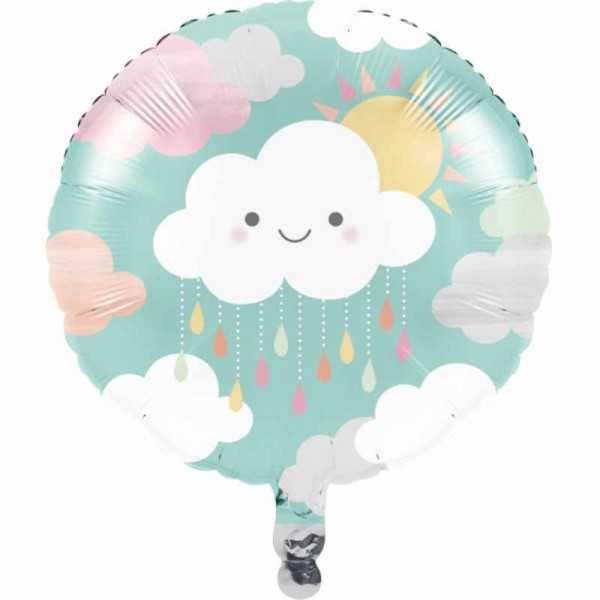 Folienballon Sonnenschein