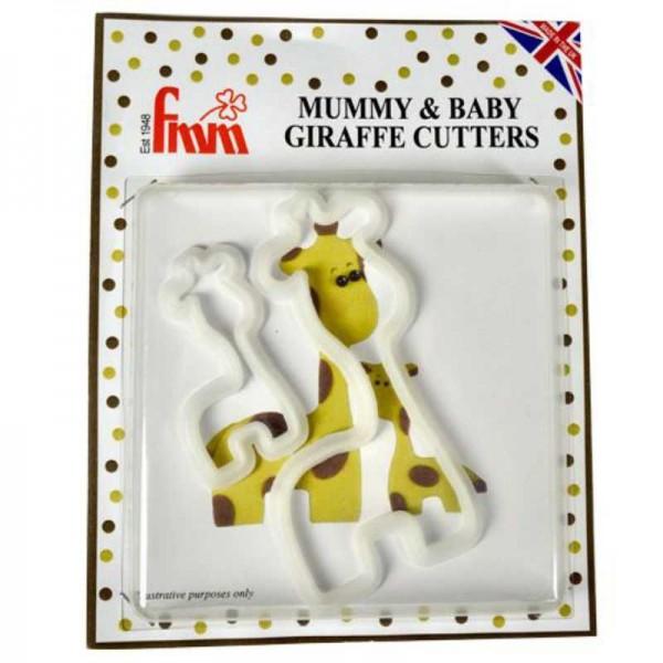 Fondant-Ausstecher Giraffe