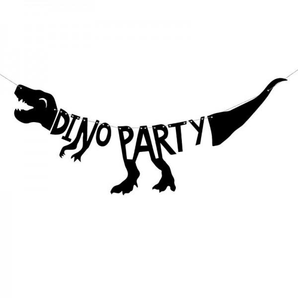 Girlande Dinosaurier