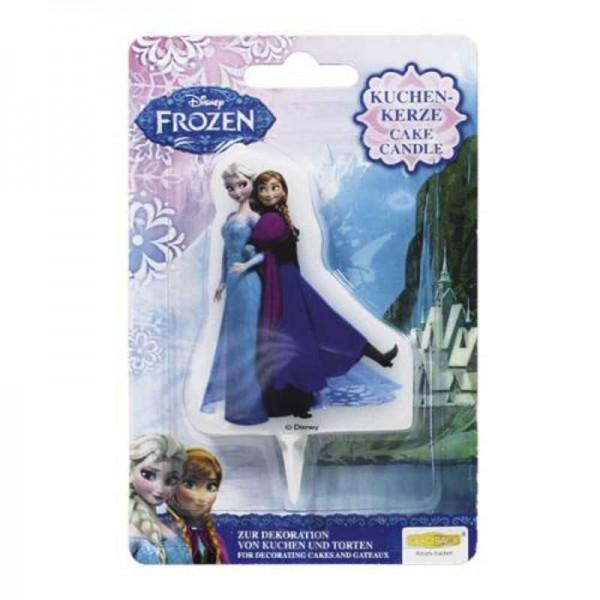 Geburtstagskerzen Elsa & Anna, Frozen / Die Eiskönigin, 1 Stk.