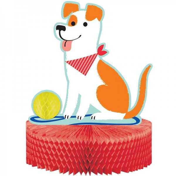 Tischaufsteller Hunde Party
