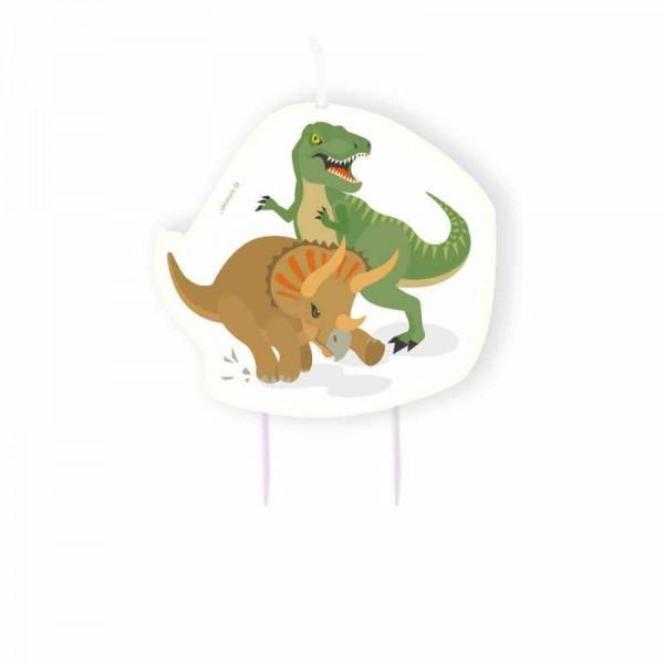 Geburtstagskerze Happy Dino