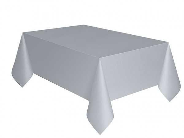 Tischdecke silber