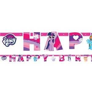 Girlande Happy Birthday My Little Pony, 1 Stk.