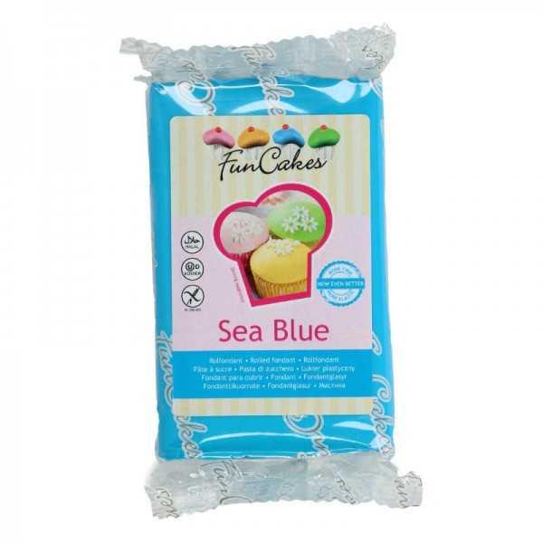 Funcakes Rollfondant Blau, 250 g