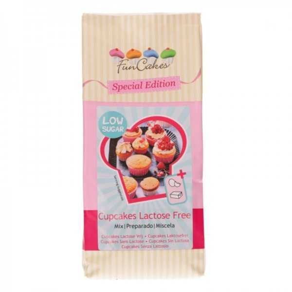 Funcakes Backmischung für Cupcakes laktosefrei, 500 g