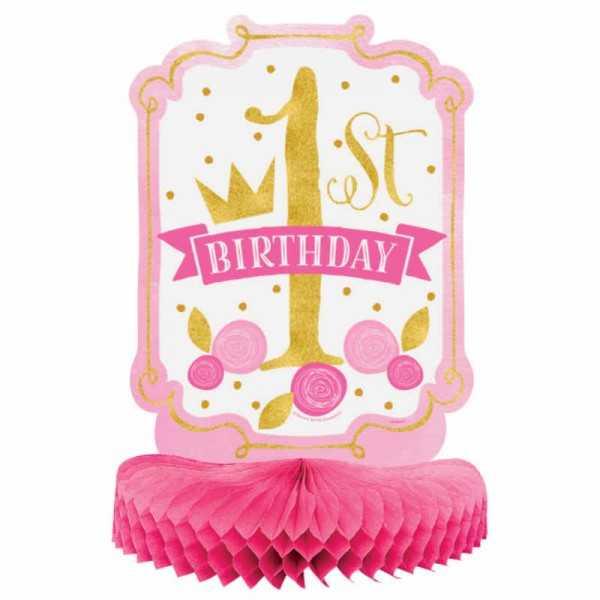 Tischaufsteller 1. Geburtstag Prinzessin