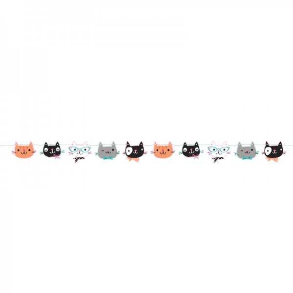Girlande Kätzchen Party