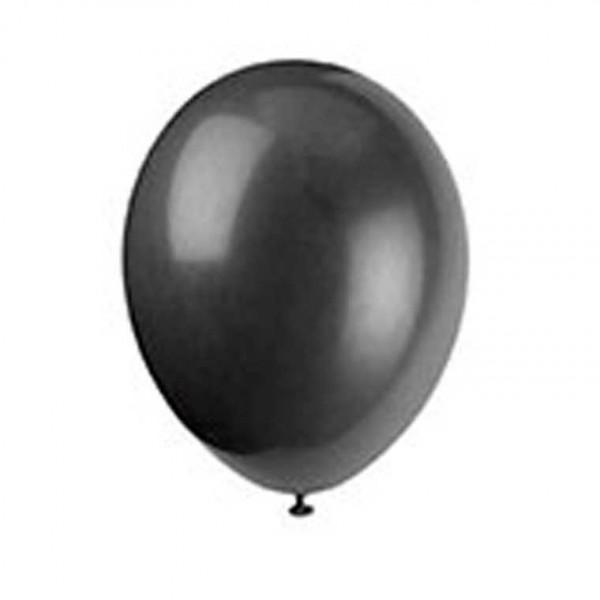 Luftballons schwarz, 10 Stk.