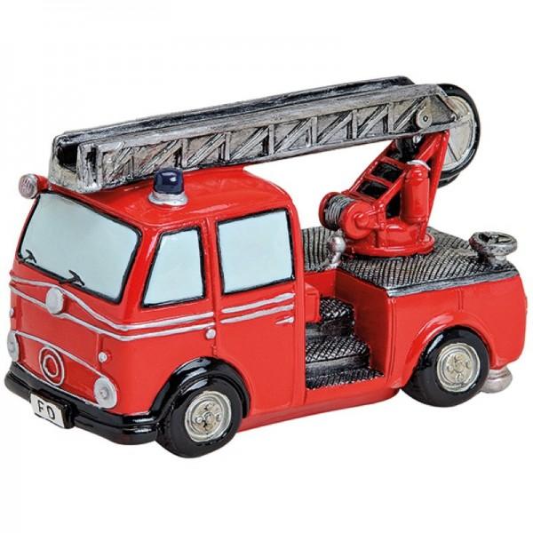 Spardose Feuerwehrwagen