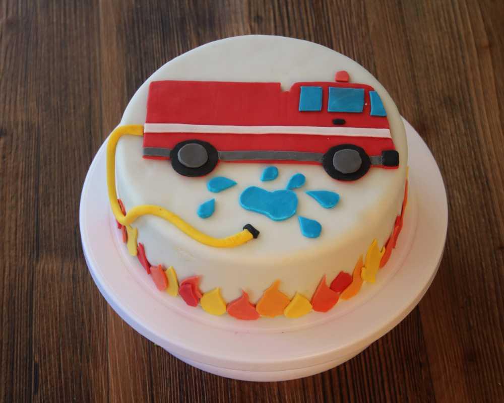 Motivtorte Selber Machen Feuerwehr Junior Partyshop Junior