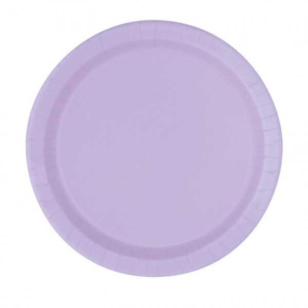Teller lila