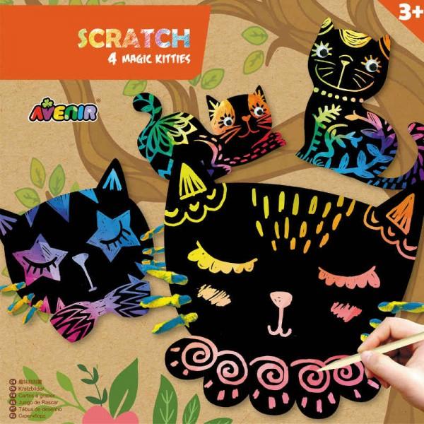 Scratch Magic Kitties