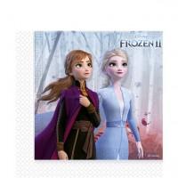 Servietten Frozen 2 / Die Eiskönigin, 20 Stk.