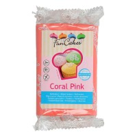 Funcakes Rollfondant Coral Pink, 250g