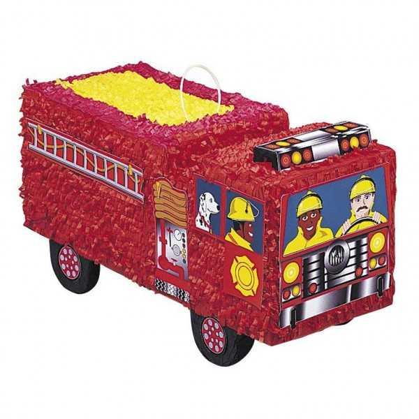 Piñata Feuerwehrauto