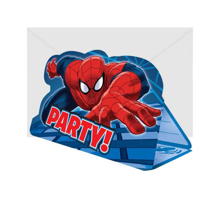 spiderman einladungskarten basteln – askceleste, Einladungsentwurf