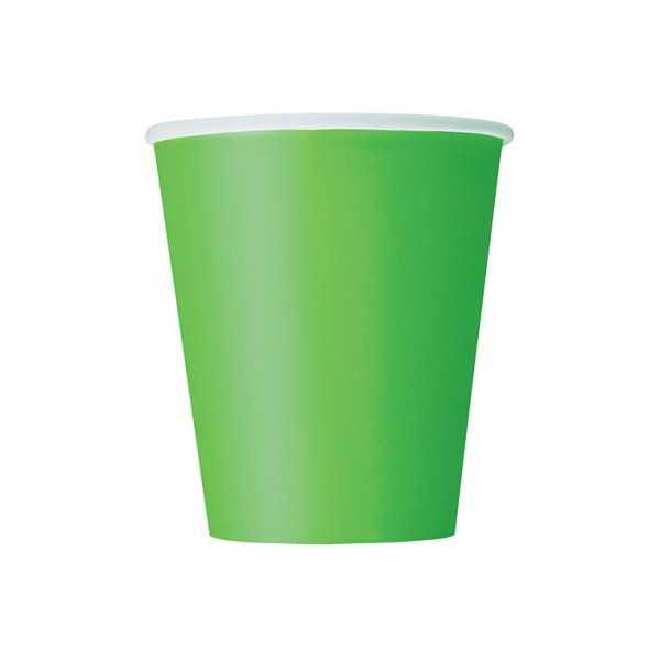 Becher hellgrün