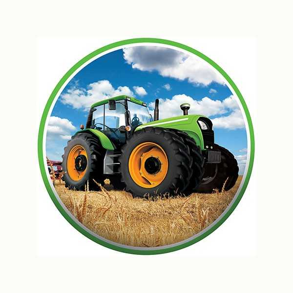 Tortenaufleger Traktor Party, 1 Stk