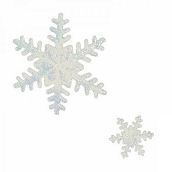 Fondant-Ausstechformset Schneeflocken 3-teilig