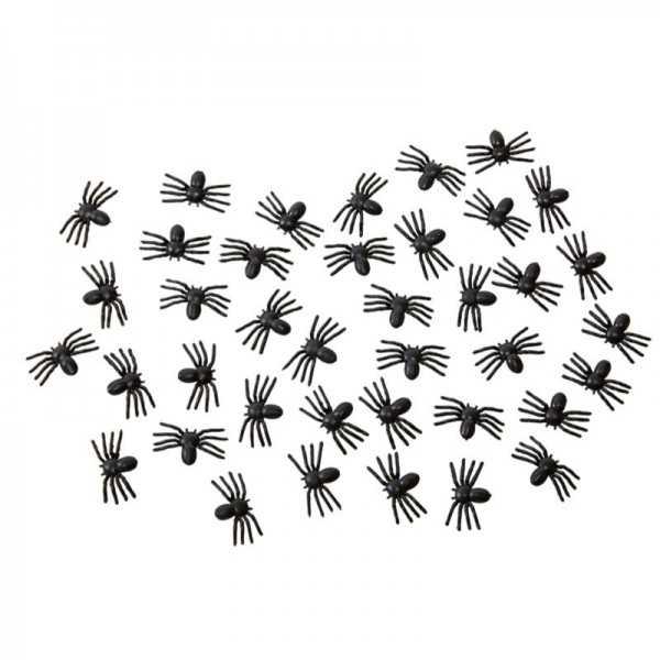 Gruselige Spinnen, 40 Stk.