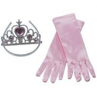 Prinzessin-Set rosa, 2-tlg.