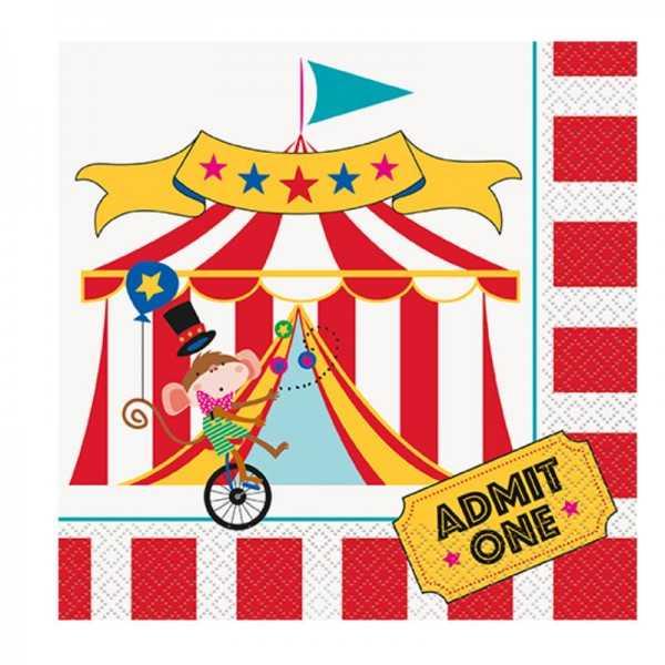 Servietten Zirkus