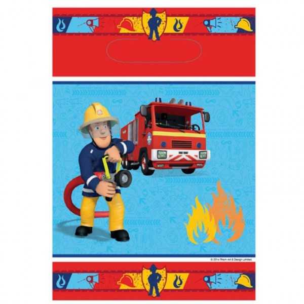 Partytüte Feuerwehrmann Sam, 8 Stk