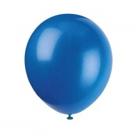 Luftballons dunkelblau, 10 Stk.
