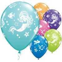Luftballons Meerjungfrau, 25 Stk.