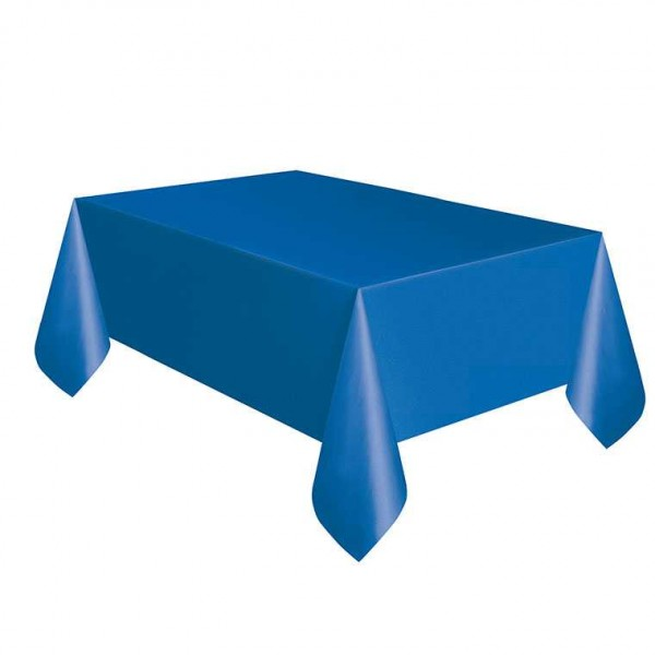 Tischdecke blau