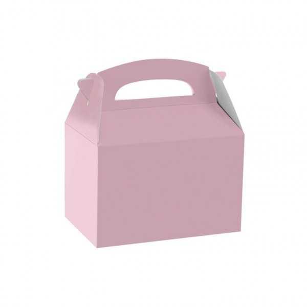 Geschenkbox rosa, 1 Stk