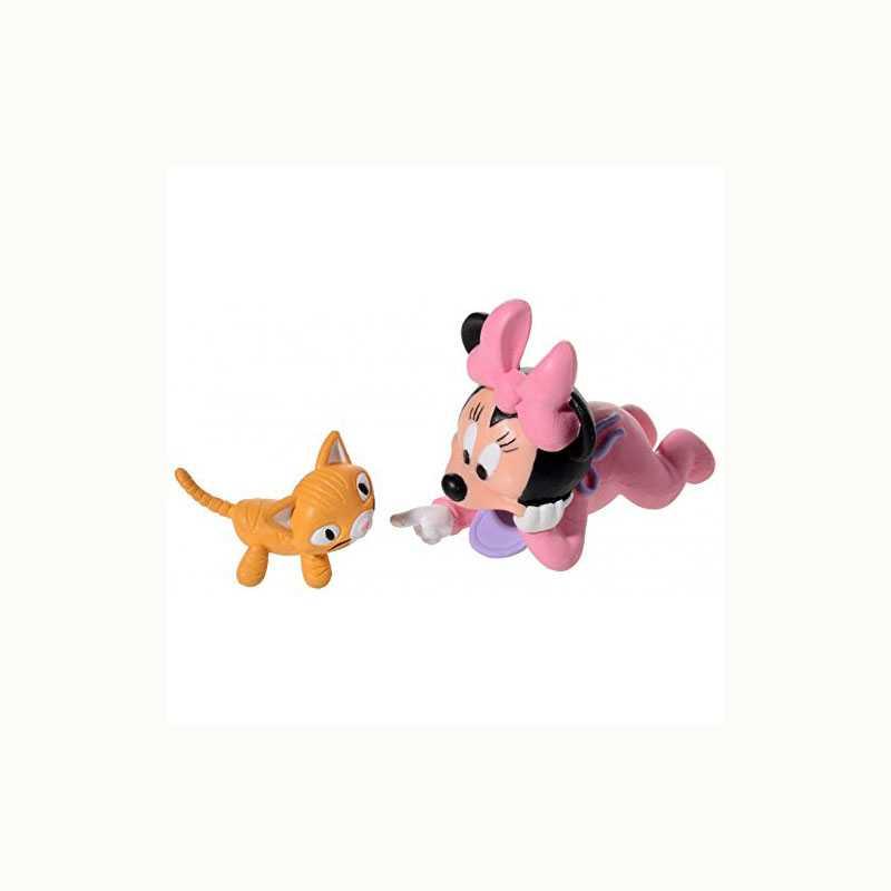 Tortendekoset Baby Minnie Maus, 5-tlg.