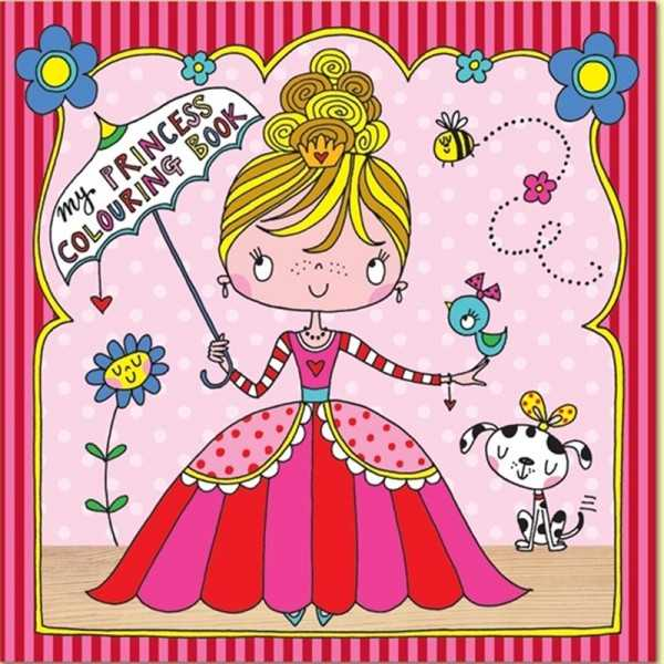 Ausmalbuch Prinzessin