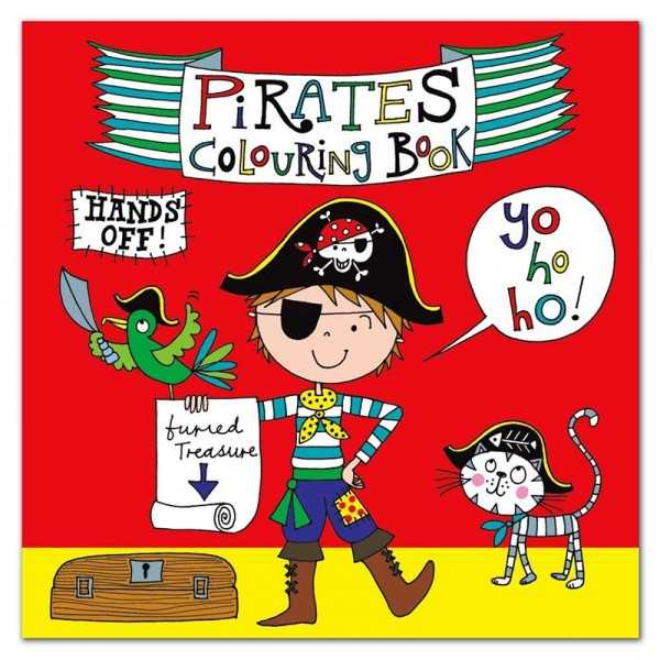 Ausmalbuch Pirat