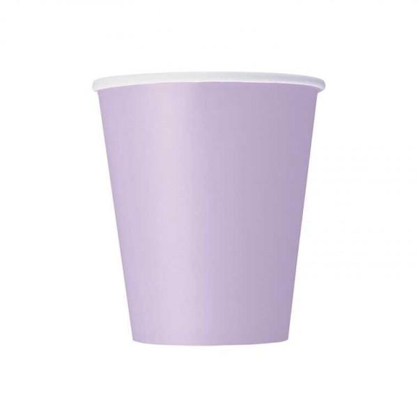 Becher lila