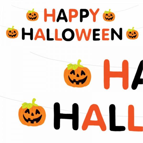 Girlande Happy Halloween 3.6m