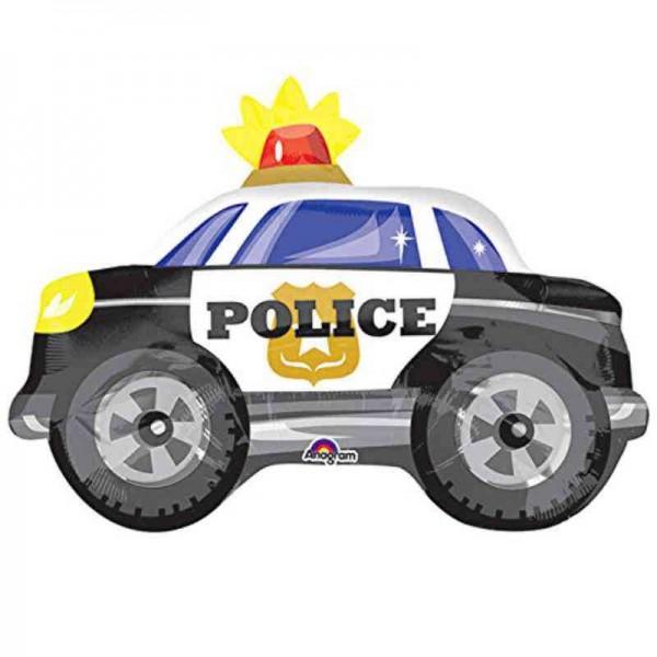 Folienballon Polizeiauto