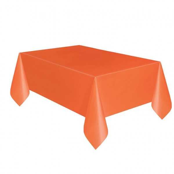 Tischdecke orange