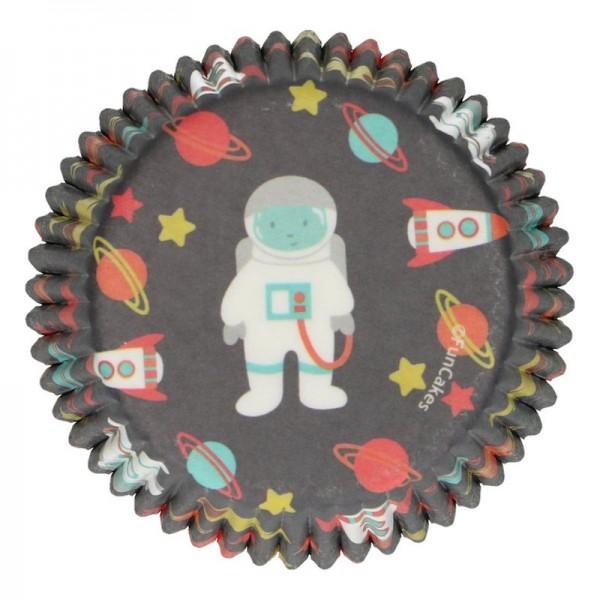 Muffinförmchen Weltraum, 48 Stk.