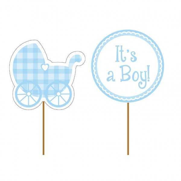 Muffinpicker Baby Shower, It's a Boy!, 12 Stk