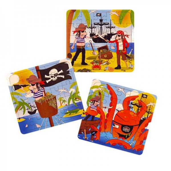 Minipuzzle Piraten