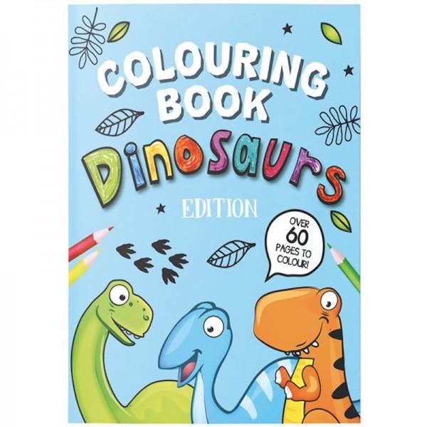 Ausmalheft Dinosaurier