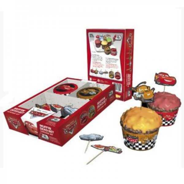 Muffinset Cars, 48-teilig