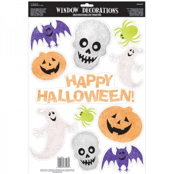 Fenstersticker-Set Halloween Happy Halloween, 11-tlg.