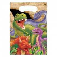 Partytüten Dinosaurier Alarm, 8 Stk.